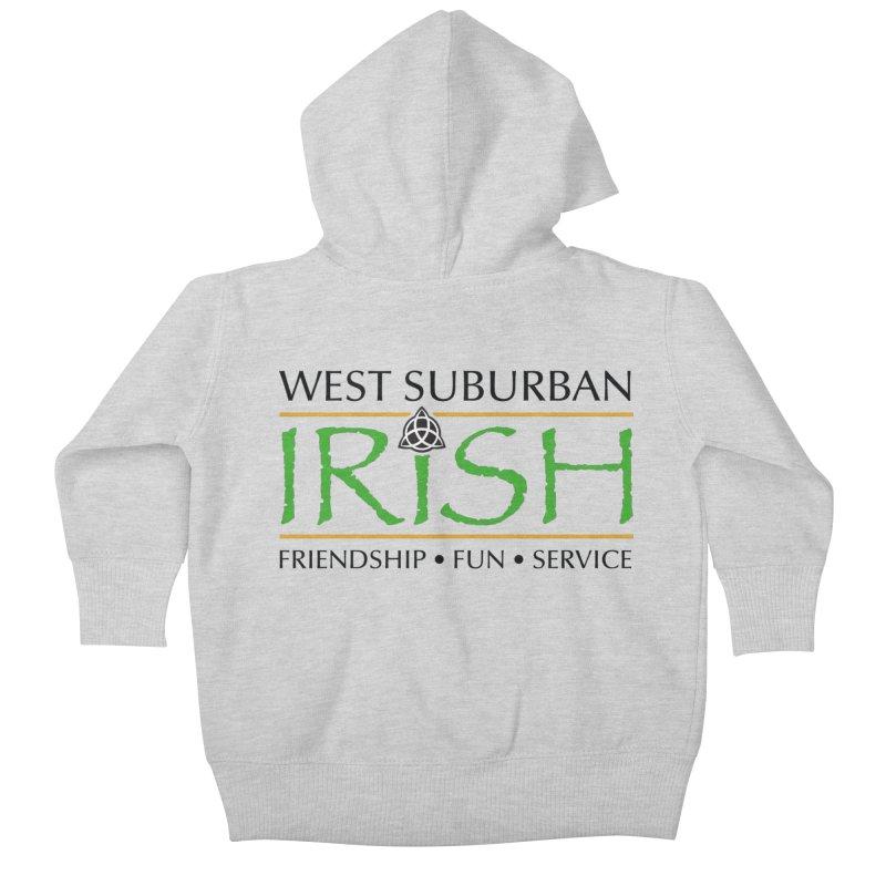 Irish - West Suburban Irish 1 Kids Baby Zip-Up Hoody by Brian Harms