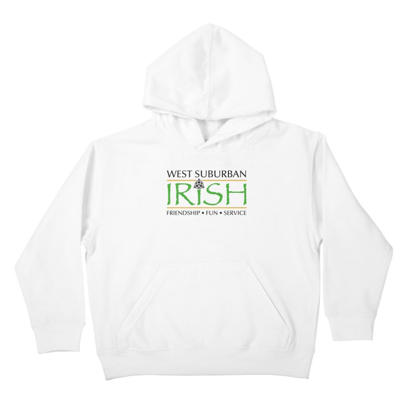 Irish - West Suburban Irish 1 Kids Pullover Hoody by Brian Harms