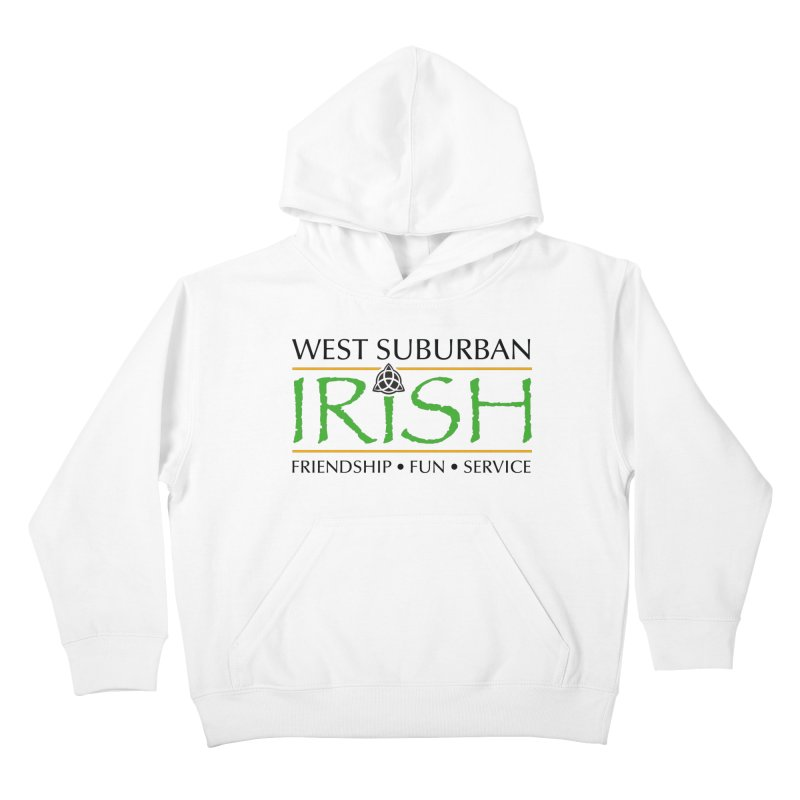 Irish - West Suburban Irish 1 Kids Pullover Hoody by Brian Harms