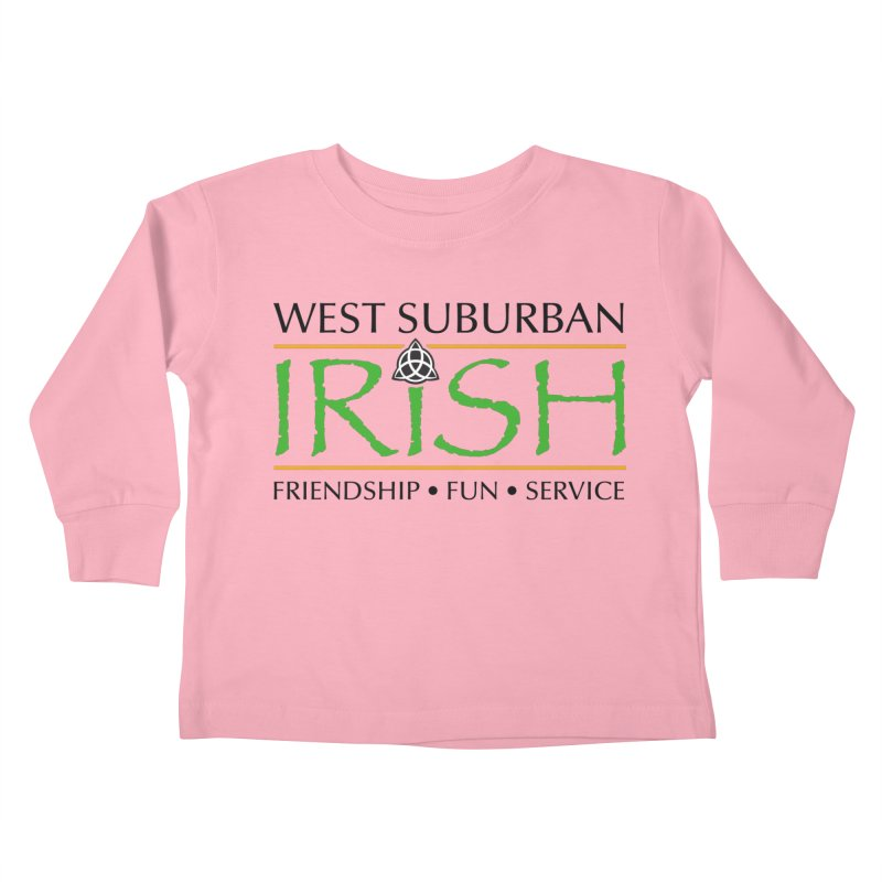 Irish - West Suburban Irish 1 Kids Toddler Longsleeve T-Shirt by Brian Harms