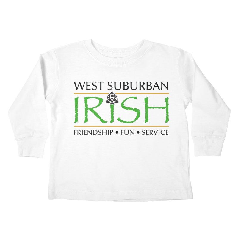 Irish - West Suburban Irish 1 Kids Toddler Longsleeve T-Shirt by Brian Harms