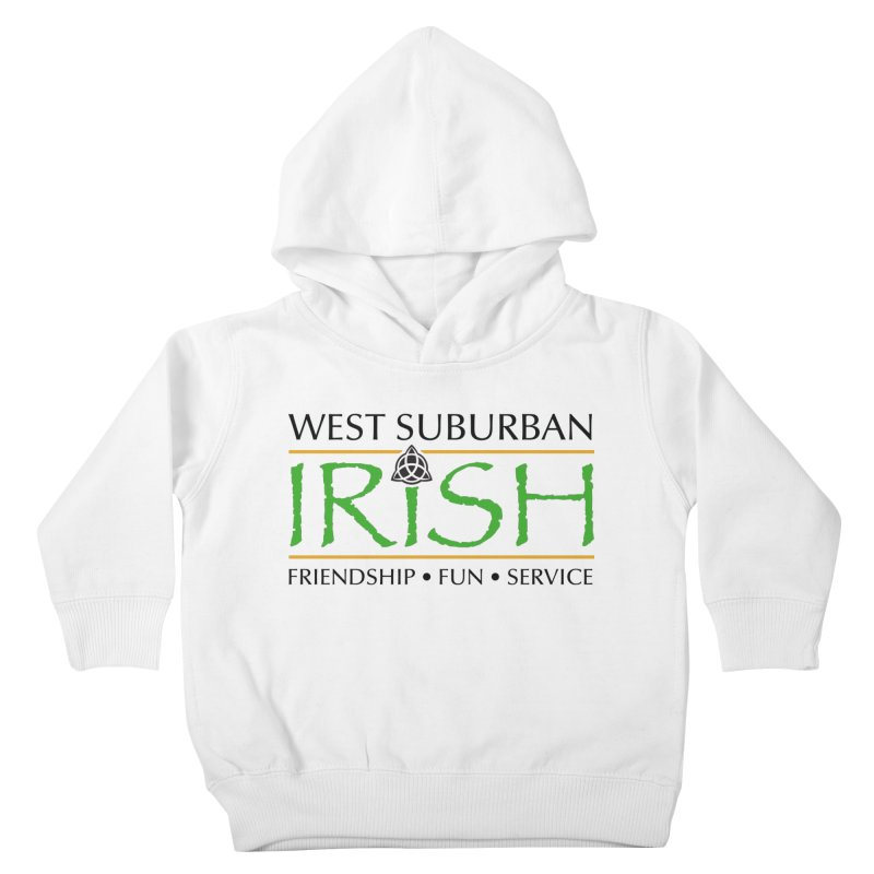 Irish - West Suburban Irish 1 Kids Toddler Pullover Hoody by Brian Harms