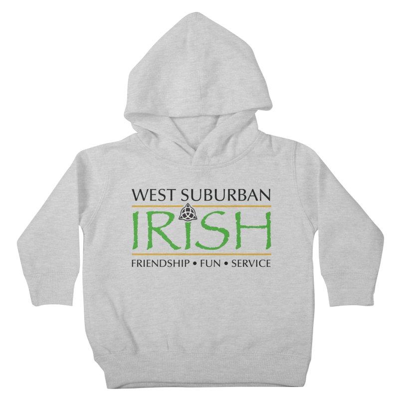 Irish - West Suburban Irish 1 Kids Toddler Pullover Hoody by Brian Harms
