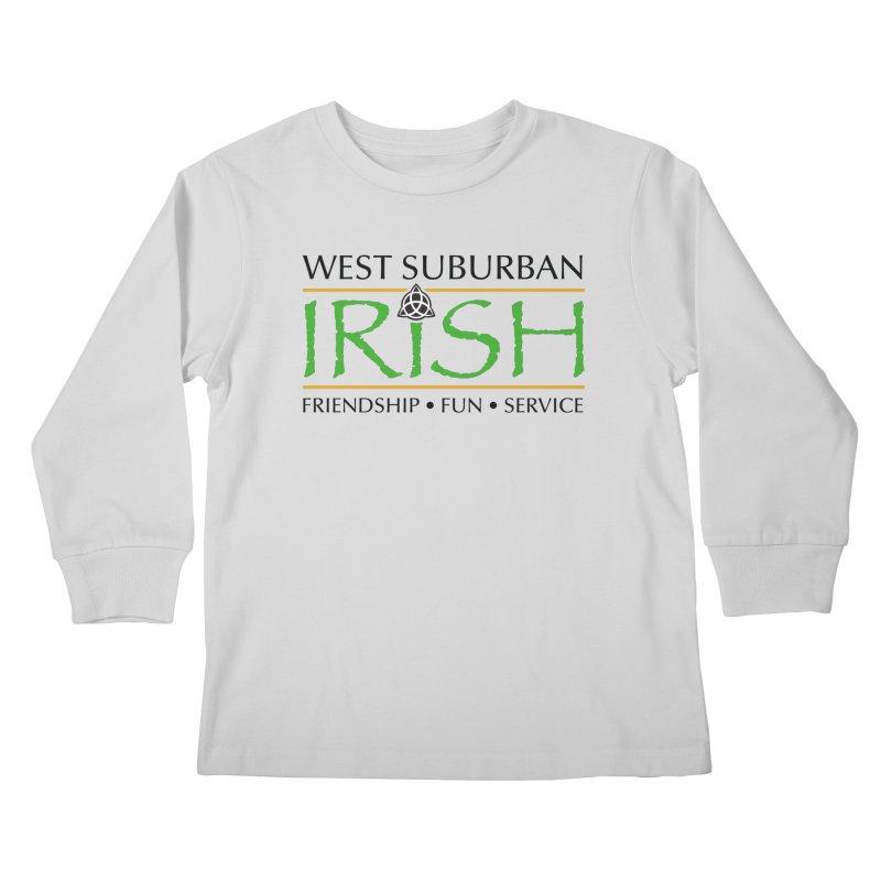 Irish - West Suburban Irish 1 Kids Longsleeve T-Shirt by Brian Harms