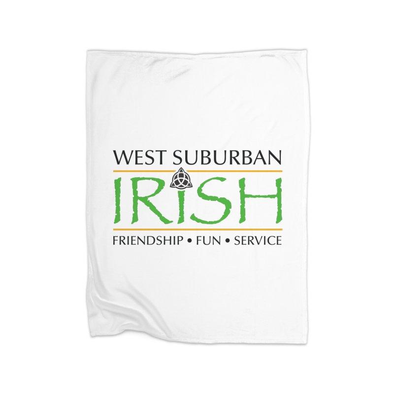 Irish - West Suburban Irish 1 Home Fleece Blanket Blanket by Brian Harms