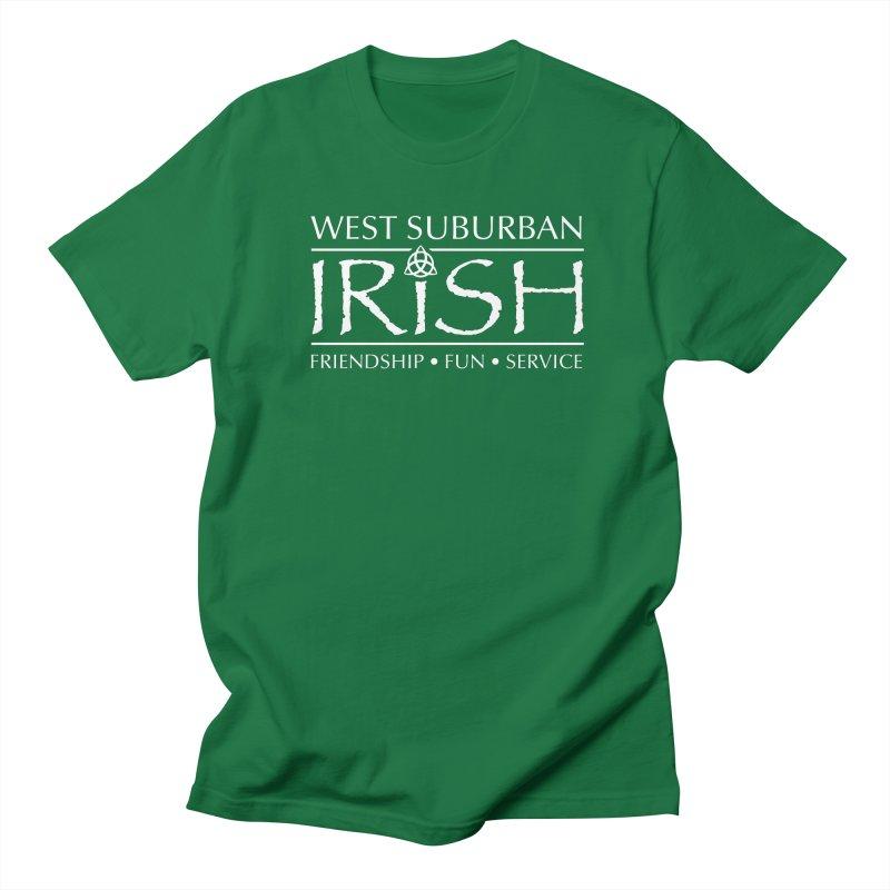 Irish - West Suburban Irish 2 in Men's Regular T-Shirt Kelly Green by Brian Harms