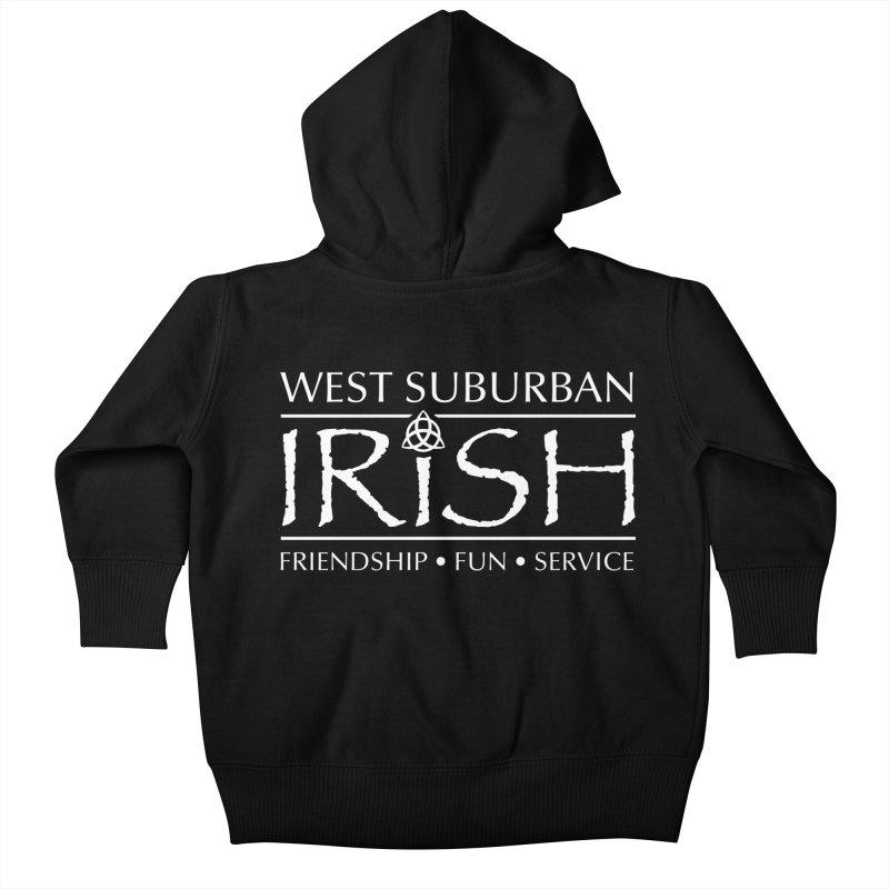 Irish - West Suburban Irish 2 Kids Baby Zip-Up Hoody by Brian Harms