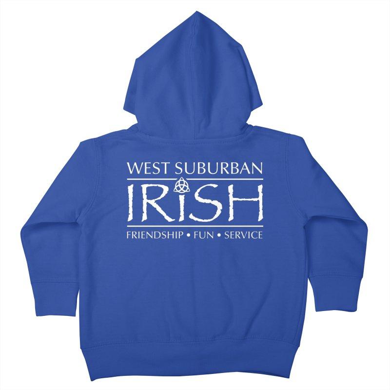 Irish - West Suburban Irish 2 Kids Toddler Zip-Up Hoody by Brian Harms