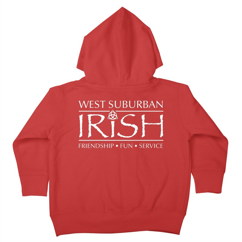 Irish - West Suburban Irish 2 Kids Toddler Zip-Up Hoody by Brian Harms