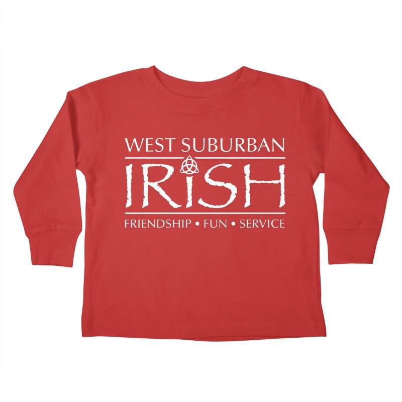 Irish - West Suburban Irish 2 Kids Toddler Longsleeve T-Shirt by Brian Harms