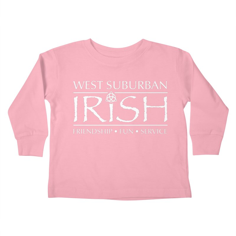 Irish - West Suburban Irish 2 Kids Toddler Longsleeve T-Shirt by Brian Harms