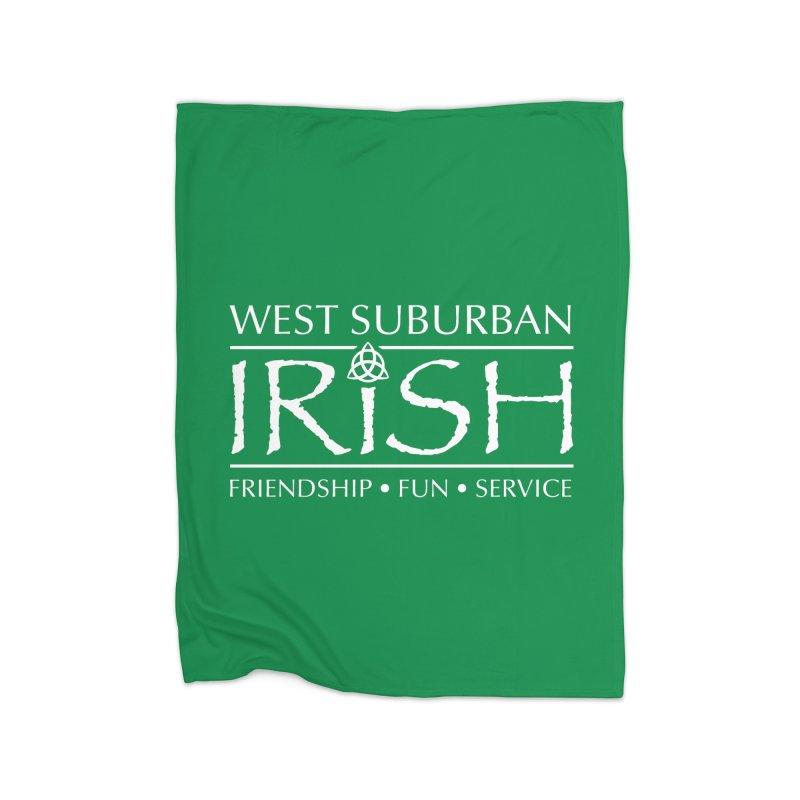 Irish - West Suburban Irish 2 Home Fleece Blanket Blanket by Brian Harms