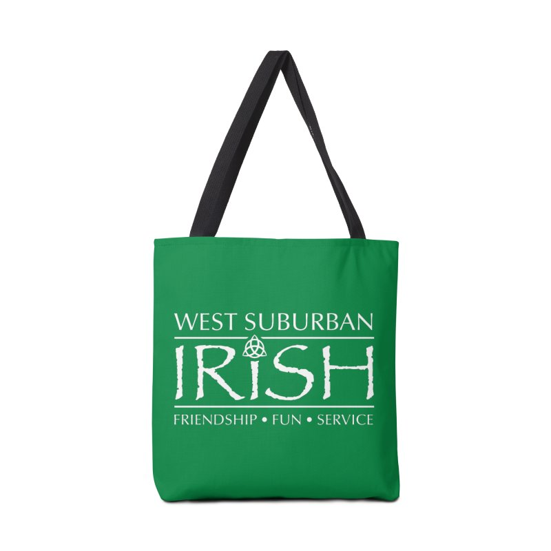 Irish - West Suburban Irish 2 Accessories Tote Bag Bag by Brian Harms