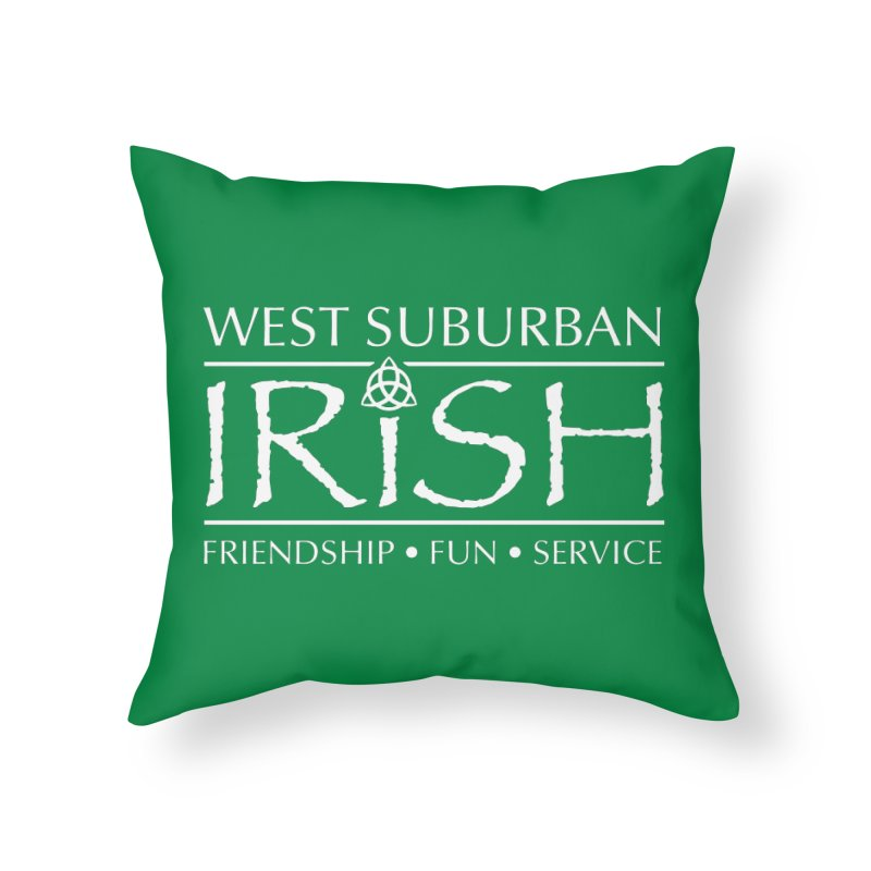 Irish - West Suburban Irish 2 Home Throw Pillow by Brian Harms