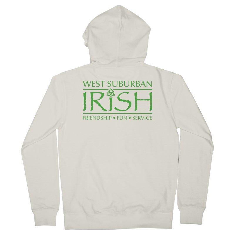 Irish - West Suburban Irish 3 Men's Zip-Up Hoody by Brian Harms