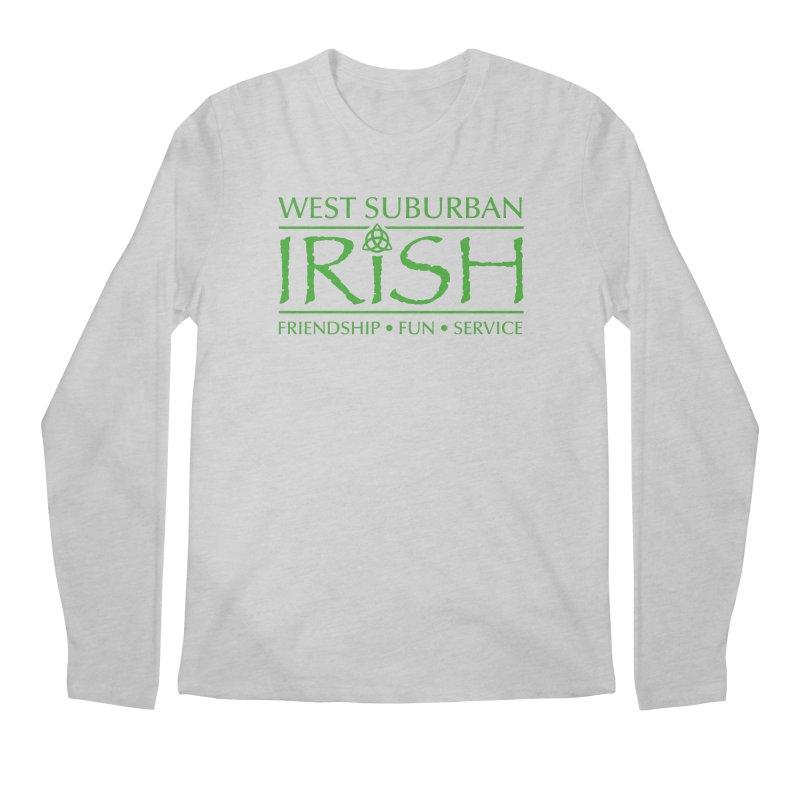 Irish - West Suburban Irish 3 Men's Longsleeve T-Shirt by Brian Harms
