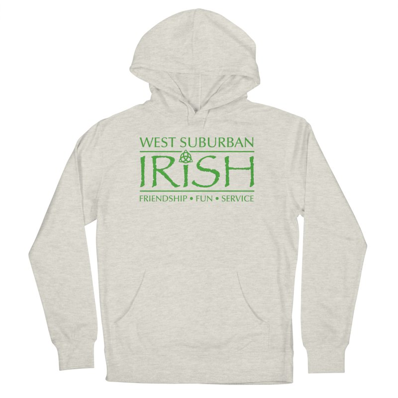 Irish - West Suburban Irish 3 Men's French Terry Pullover Hoody by Brian Harms