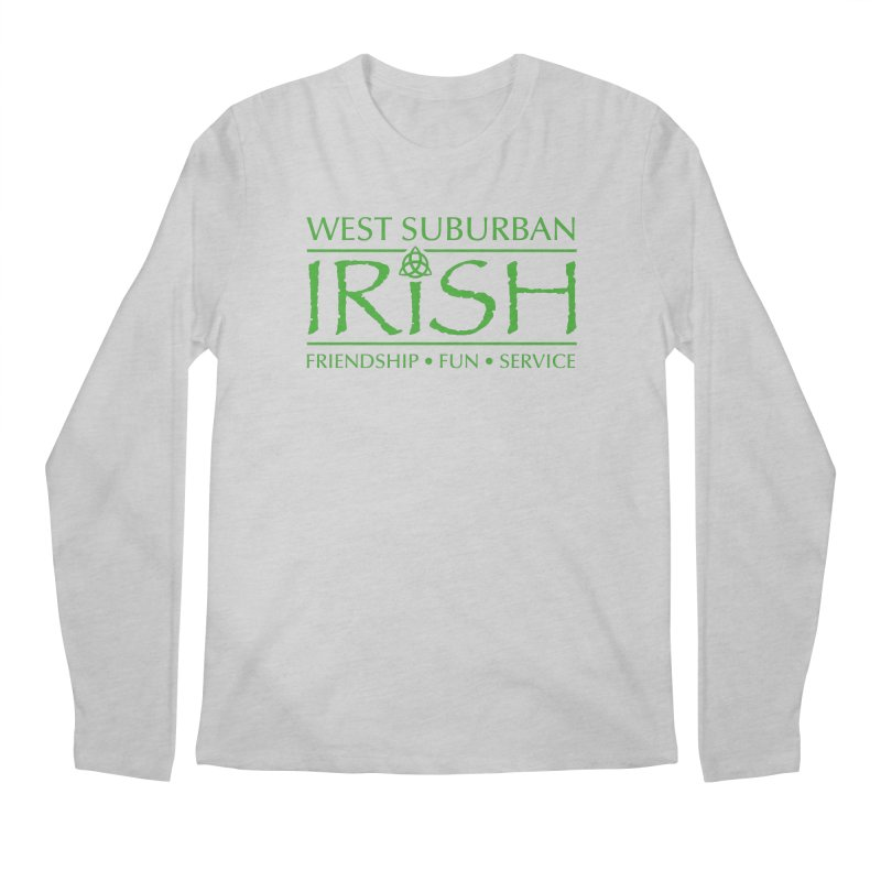 Irish - West Suburban Irish 3 Men's Regular Longsleeve T-Shirt by Brian Harms