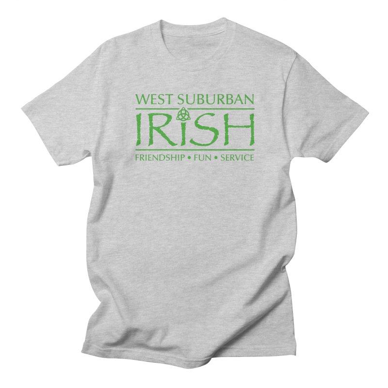 Irish - West Suburban Irish 3 Men's Regular T-Shirt by Brian Harms