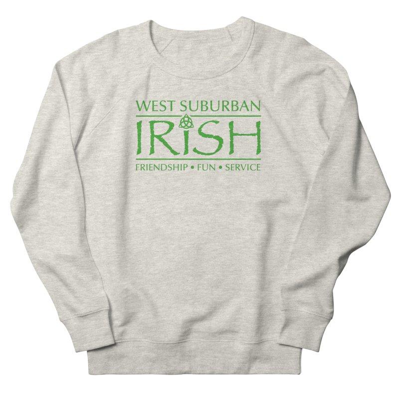 Irish - West Suburban Irish 3 Men's French Terry Sweatshirt by Brian Harms