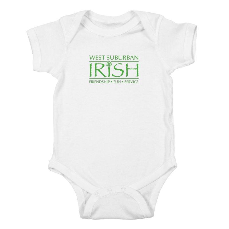 Irish - West Suburban Irish 3 Kids Baby Bodysuit by Brian Harms