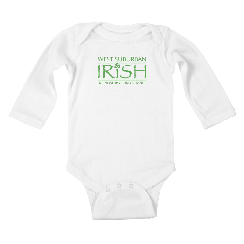 Irish - West Suburban Irish 3 Kids Baby Longsleeve Bodysuit by Brian Harms