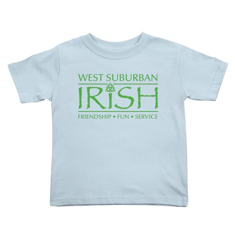 Irish - West Suburban Irish 3 Kids Toddler T-Shirt by Brian Harms