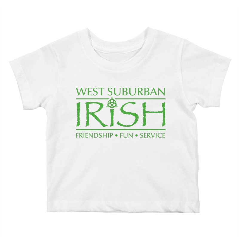 Irish - West Suburban Irish 3 Kids Baby T-Shirt by Brian Harms