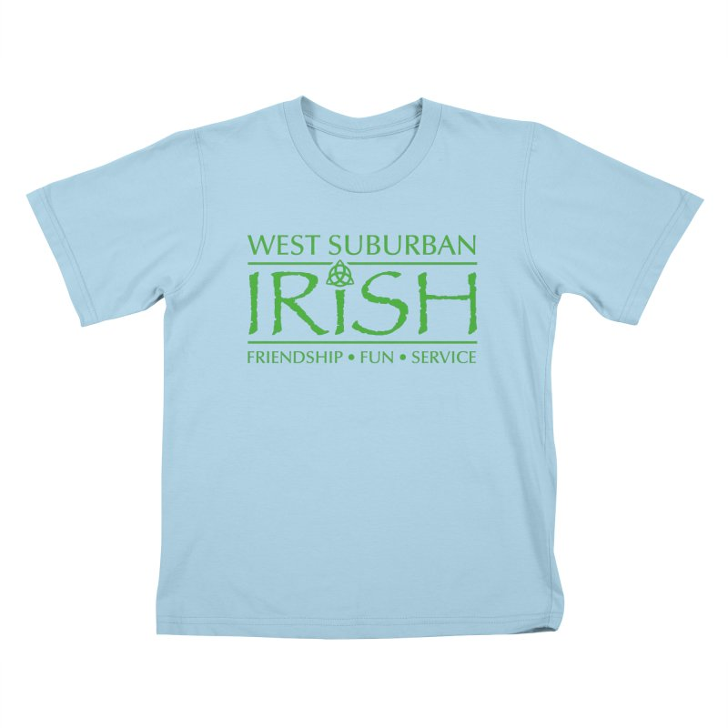 Irish - West Suburban Irish 3 Kids T-Shirt by Brian Harms