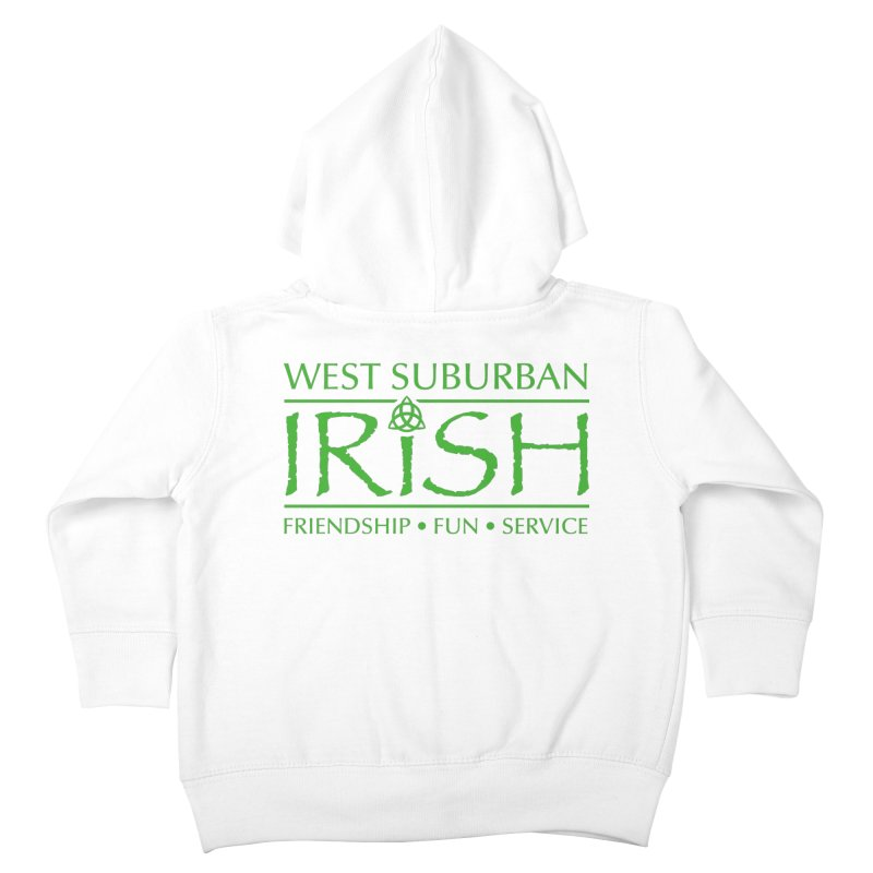 Irish - West Suburban Irish 3 Kids Toddler Zip-Up Hoody by Brian Harms