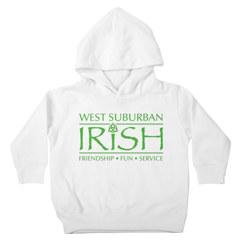 Irish - West Suburban Irish 3 Kids Toddler Pullover Hoody by Brian Harms