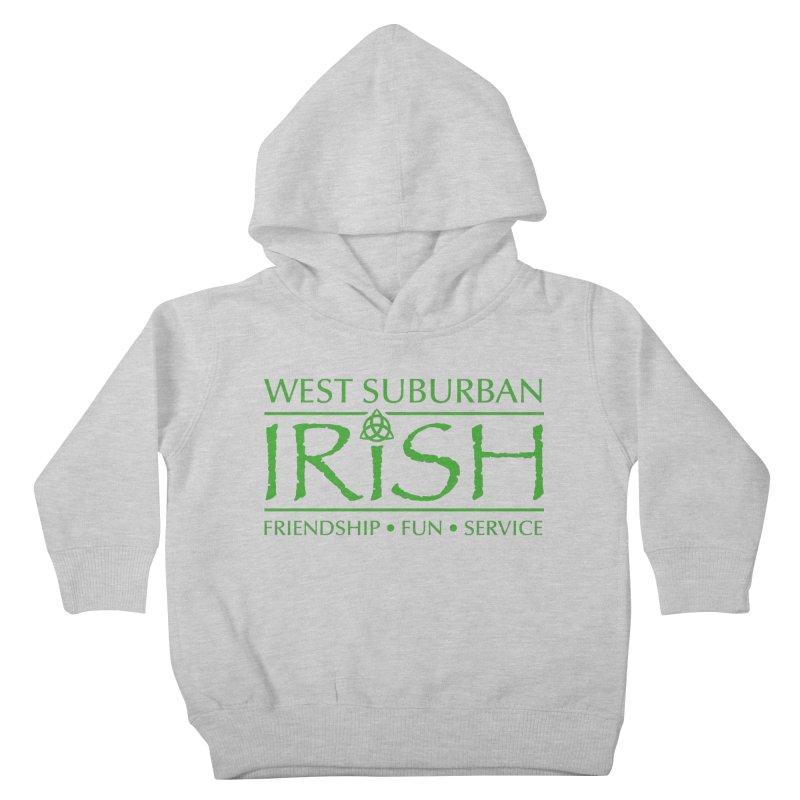 Irish - West Suburban Irish 3 Kids Toddler Pullover Hoody by Brian Harms