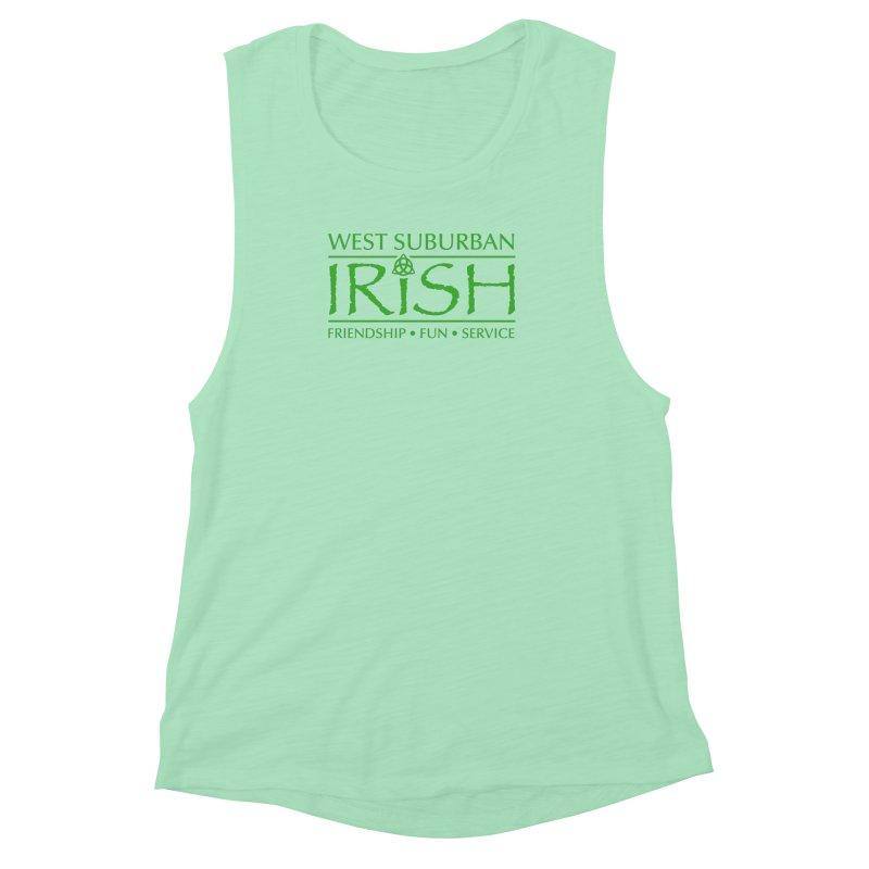 Irish - West Suburban Irish 3 Women's Muscle Tank by Brian Harms