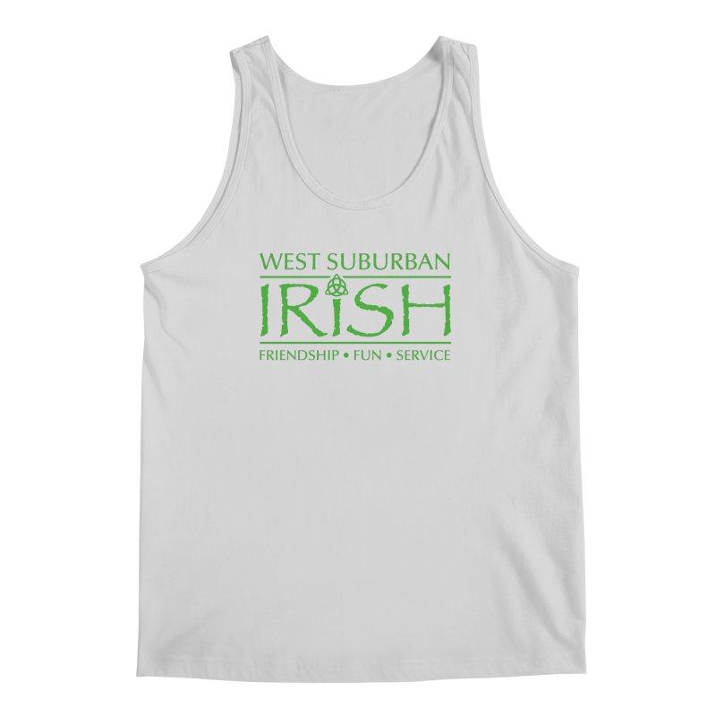 Irish - West Suburban Irish 3 Men's Regular Tank by Brian Harms