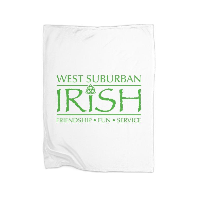 Irish - West Suburban Irish 3 Home Fleece Blanket Blanket by Brian Harms