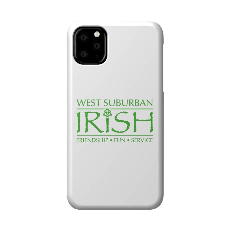 Irish - West Suburban Irish 3 Accessories Phone Case by Brian Harms