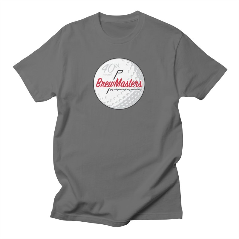 Brewmasters_Golf_40th Men's T-Shirt by Brian Harms