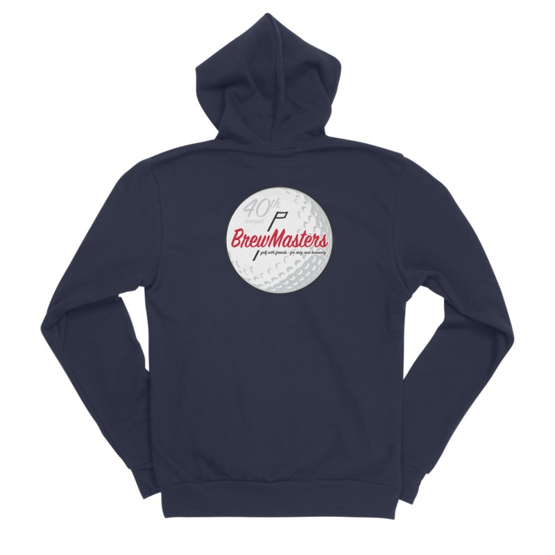 Brewmasters_Golf_40th Women's Sponge Fleece Zip-Up Hoody by Brian Harms
