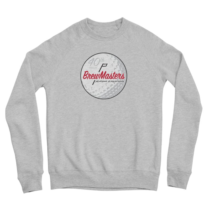Brewmasters_Golf_40th Men's Sponge Fleece Sweatshirt by Brian Harms