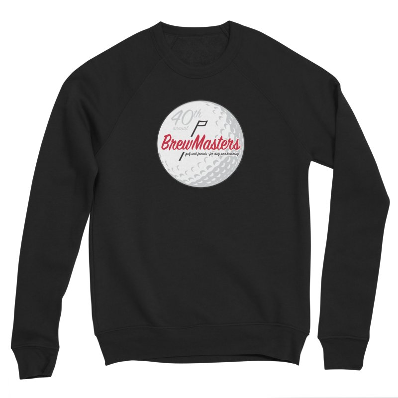 Brewmasters_Golf_40th Men's Sponge Fleece Sweatshirt by Brian Harms