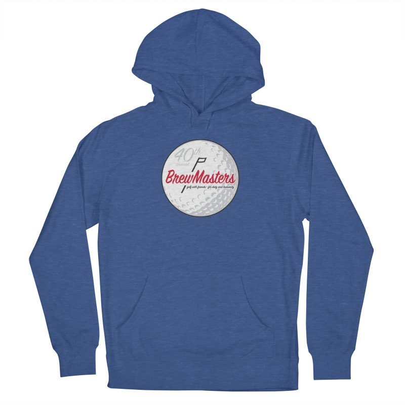 Brewmasters_Golf_40th Men's French Terry Pullover Hoody by Brian Harms