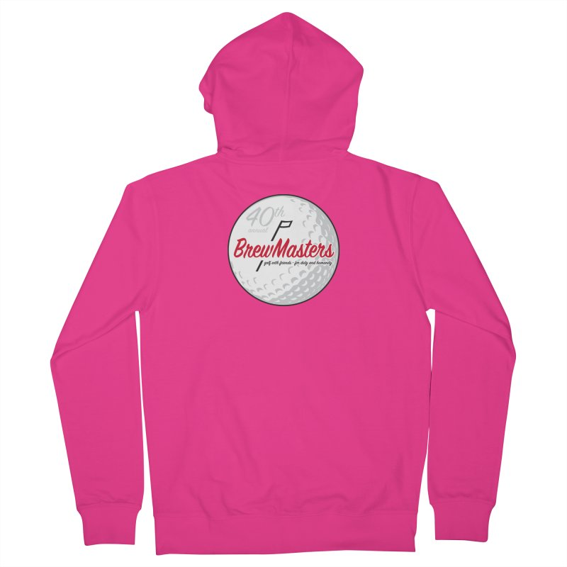 Brewmasters_Golf_40th Men's French Terry Zip-Up Hoody by Brian Harms