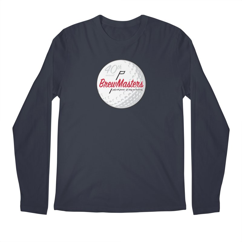 Brewmasters_Golf_40th Men's Regular Longsleeve T-Shirt by Brian Harms