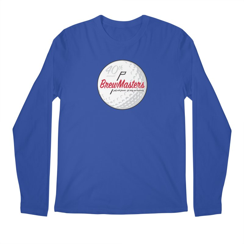 Brewmasters_Golf_40th Men's Regular Longsleeve T-Shirt by Brian Harms