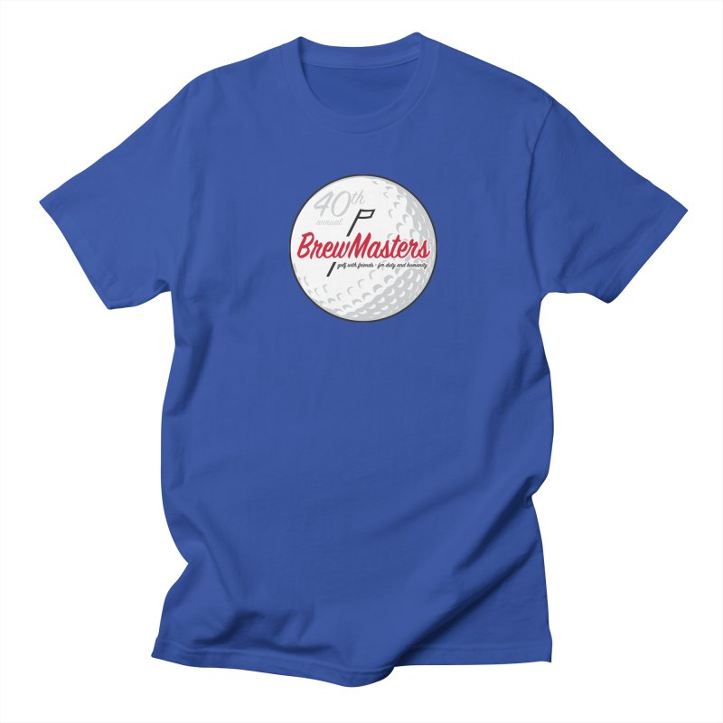Brewmasters_Golf_40th Women's Regular Unisex T-Shirt by Brian Harms