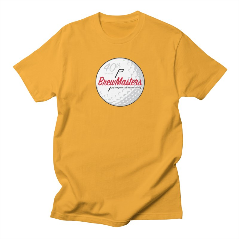 Brewmasters_Golf_40th Men's Regular T-Shirt by Brian Harms