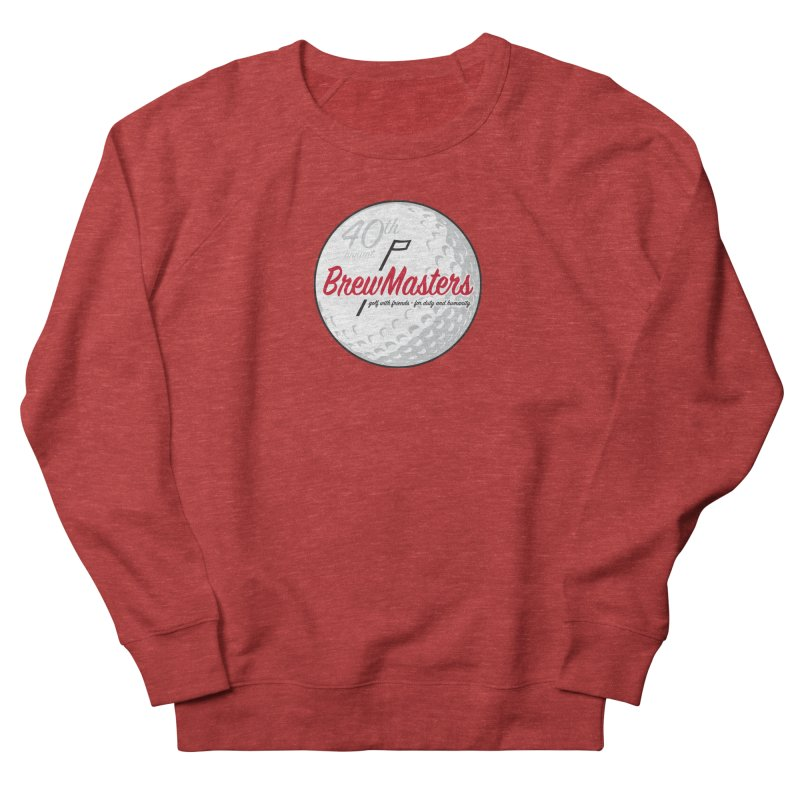 Brewmasters_Golf_40th Men's French Terry Sweatshirt by Brian Harms