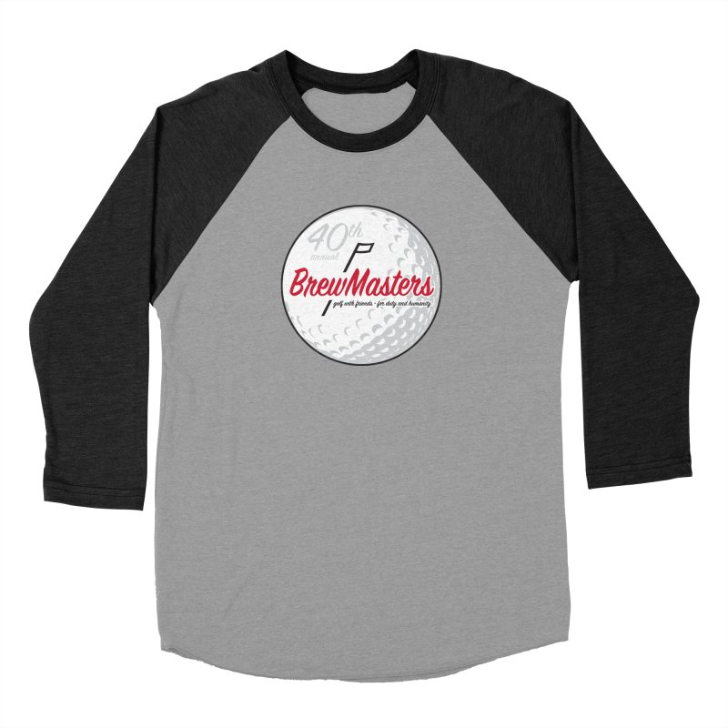Brewmasters_Golf_40th Men's Baseball Triblend Longsleeve T-Shirt by Brian Harms