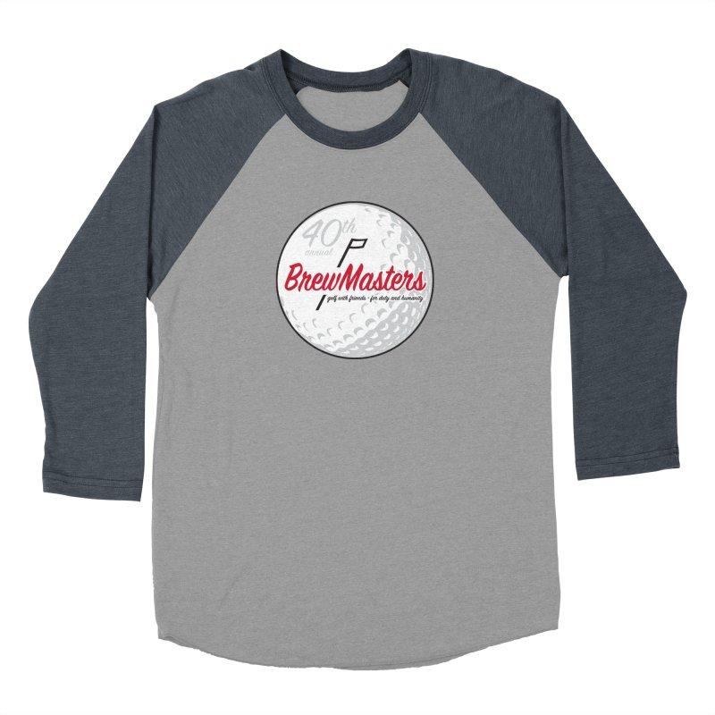 Brewmasters_Golf_40th Men's Baseball Triblend Longsleeve T-Shirt by Brian Harms