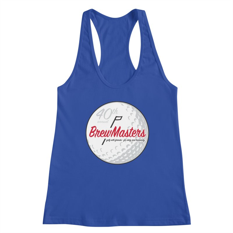 Brewmasters_Golf_40th Women's Racerback Tank by Brian Harms